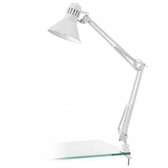 EGLO 90872 | Firmo Eglo sa navojem svjetiljka s prekidačem elementi koji se mogu okretati 1x E27 blistavo bijela