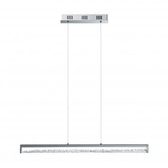 EGLO 90929 | Cardito Eglo visilice svjetiljka 6x LED 2700lm 3000K krom, kristal