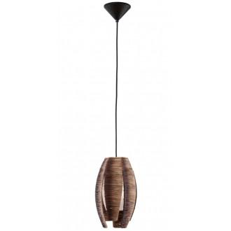 EGLO 91008 | Mongu Eglo visilice svjetiljka 1x E27 smeđe
