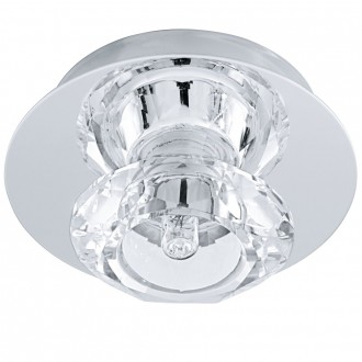 EGLO 91192 | Bantry7 Eglo stropne svjetiljke svjetiljka 1x G9 krom, kristal
