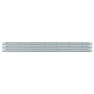 EGLO 92051 | Eglo-LS-Deco Eglo LED traka svjetiljka sa prekidačem na kablu s utičnicom 3x LED 330lm 4000K bijelo