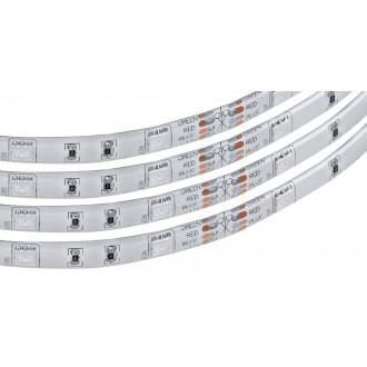 EGLO 92067 | Eglo-LS-Flex-IP Eglo LED traka RGB svjetiljka daljinski upravljač jačina svjetlosti se može podešavati, promjenjive boje 1x LED 600lm RGBK IP44 bijelo