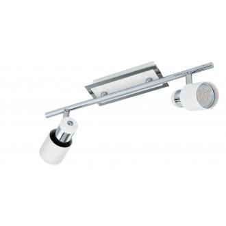 EGLO 92085   Davida Eglo zidna, stropne svjetiljke svjetiljka elementi koji se mogu okretati 2x GU10 800lm 3000K krom, bijelo