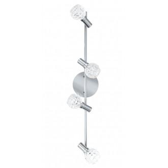 EGLO 92105   Hania Eglo zidna, stropne svjetiljke svjetiljka elementi koji se mogu okretati 4x LED 916lm 3000K krom, prozirno