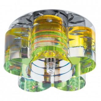 EGLO 92691   Tortoli_8 Eglo ugradbena svjetiljka Ø90mm 1x G4 krom, fluorescentna