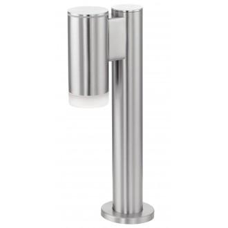 EGLO 92737 | RigaLED Eglo podna svjetiljka 35,5cm 1x GU10 200lm 4000K IP44 plemeniti čelik, čelik sivo