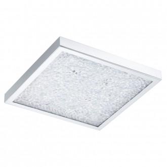 EGLO 92781 | Cardito Eglo stropne svjetiljke svjetiljka daljinski upravljač promjenjive boje 1x LED 1550lm + 4x LED 3000K krom, prozirno