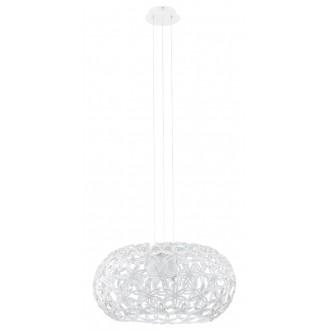 EGLO 92887   Silvestro-1 Eglo visilice svjetiljka 2x E27 bijelo, prozirna