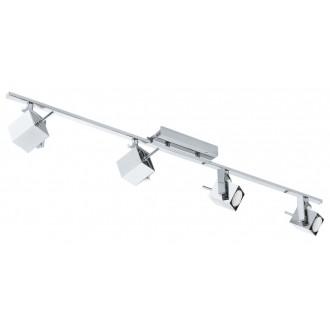 EGLO 93157 | Manao_LED Eglo zidna, stropne svjetiljke svjetiljka elementi koji se mogu okretati 4x GU10 1600lm 3000K krom