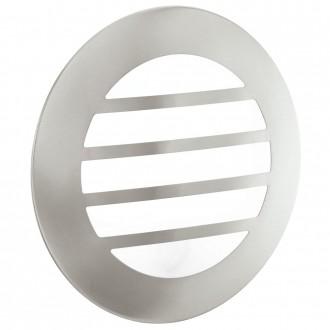 EGLO 93267 | City2_LED Eglo zidna, stropne svjetiljke svjetiljka 1x GX53 IP44 plemeniti čelik, čelik sivo, bijelo