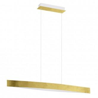 EGLO 93341 | Fornes Eglo visilice svjetiljka 1x LED 1800lm 3000K zlatno, bijelo