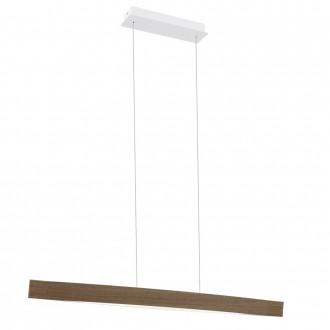 EGLO 93342 | Fornes Eglo visilice svjetiljka 1x LED 1800lm 3000K boja hrasta, bijelo