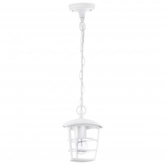 EGLO 93402 | Aloria Eglo visilice svjetiljka 1x E27 IP44 bijelo, prozirna