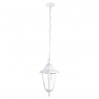 EGLO 93444 | Navedo Eglo visilice svjetiljka 1x E27 IP44 bijelo, prozirna