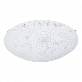 EGLO 93535 | Riconto Eglo zidna, stropne svjetiljke svjetiljka 1x LED 950lm 3000K bijelo, prozirna