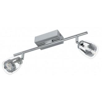 EGLO 93742 | Pecero Eglo zidna, stropne svjetiljke svjetiljka elementi koji se mogu okretati 2x LED 920lm 3000K krom, prozirno