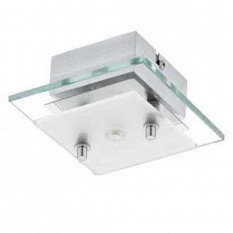 EGLO 93884   Fres_LED Eglo zidna, stropne svjetiljke svjetiljka 1x LED 510lm 3000K krom, bijelo, prozirno