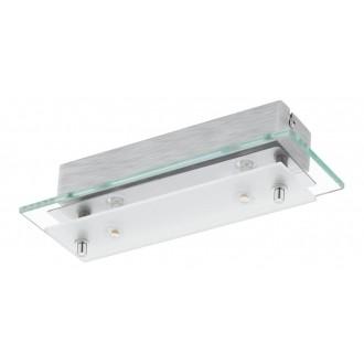 EGLO 93885   Fres_LED Eglo zidna, stropne svjetiljke svjetiljka 2x LED 1020lm 3000K krom, bijelo, prozirno