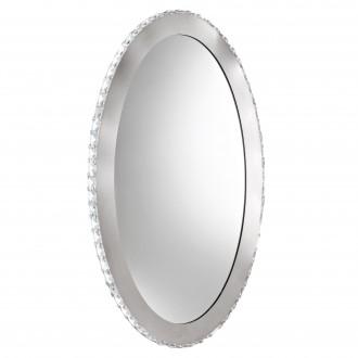 EGLO 93948 | Toneria Eglo zidna svjetiljka ovalni 1x LED 3600lm 4000K krom, prozirna