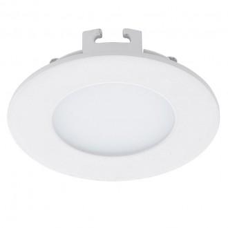 EGLO 94043 | Fueva-1 Eglo ugradbene svjetiljke LED panel okrugli Ø85mm 1x LED 360lm 4000K bijelo