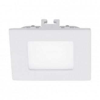 EGLO 94045 | Fueva_1 Eglo ugradbene svjetiljke LED panel četvrtast 85x85mm 1x LED 300lm 3000K bijelo