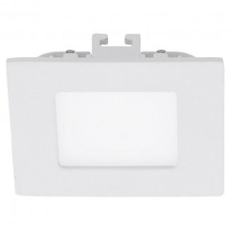 EGLO 94046 | Fueva_1 Eglo ugradbene svjetiljke LED panel četvrtast 85x85mm 1x LED 360lm 4000K bijelo