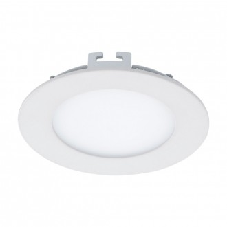 EGLO 94047 | Fueva_1 Eglo ugradbene svjetiljke LED panel okrugli Ø120mm 1x LED 600lm 3000K bijelo