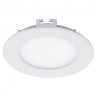 EGLO 94048 | Fueva_1 Eglo ugradbene svjetiljke LED panel okrugli jačina svjetlosti se može podešavati Ø120mm 1x LED 600lm 3000K bijelo