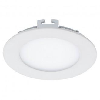EGLO 94051 | Fueva_1 Eglo ugradbene svjetiljke LED panel okrugli Ø120mm 1x LED 700lm 4000K bijelo