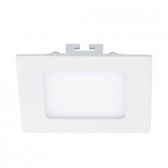EGLO 94053 | Fueva_1 Eglo ugradbene svjetiljke LED panel četvrtast 120x120mm 1x LED 600lm 3000K bijelo
