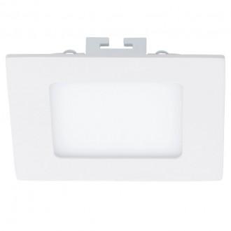 EGLO 94054 | Fueva_1 Eglo ugradbene svjetiljke LED panel četvrtast 120x120mm 1x LED 700lm 4000K bijelo