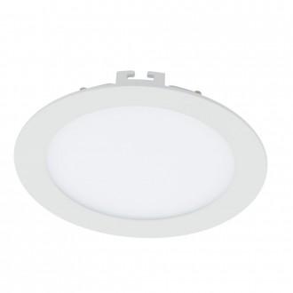 EGLO 94055 | Fueva_1 Eglo ugradbene svjetiljke LED panel okrugli Ø170mm 1x LED 1200lm 3000K bijelo