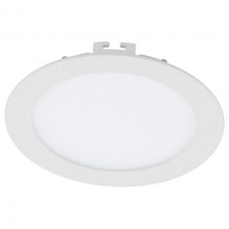 EGLO 94056 | Fueva_1 Eglo ugradbene svjetiljke LED panel okrugli jačina svjetlosti se može podešavati Ø170mm 1x LED 1200lm 3000K bijelo