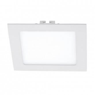 EGLO 94061 | Fueva_1 Eglo ugradbene svjetiljke LED panel četvrtast 170x170mm 1x LED 1200lm 3000K bijelo