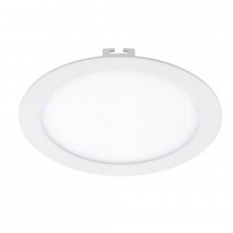 EGLO 94063 | Fueva_1 Eglo ugradbene svjetiljke LED panel okrugli Ø225mm 1x LED 1600lm 3000K bijelo