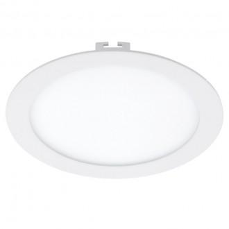 EGLO 94064 | Fueva_1 Eglo ugradbene svjetiljke LED panel okrugli jačina svjetlosti se može podešavati Ø225mm 1x LED 1600lm 3000K bijelo
