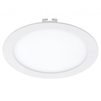 EGLO 94066 | Fueva_1 Eglo ugradbene svjetiljke LED panel okrugli Ø225mm 1x LED 2080lm 4000K bijelo