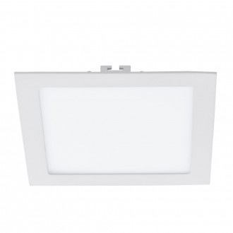 EGLO 94068 | Fueva_1 Eglo ugradbene svjetiljke LED panel četvrtast 225x225mm 1x LED 1700lm 3000K bijelo