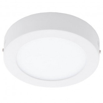 EGLO 94072 | Fueva_1 Eglo zidna, stropne svjetiljke LED panel okrugli 1x LED 1350lm 4000K bijelo