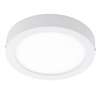 EGLO 94075 | Fueva_1 Eglo zidna, stropne svjetiljke LED panel okrugli 1x LED 1600lm 3000K bijelo