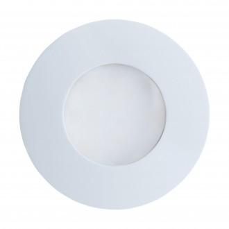 EGLO 94093 | Margo Eglo ugradbena svjetiljka Ø84mm 1x GU10 400lm 3000K IP65 bijelo, opal