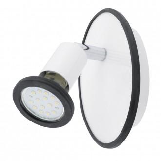 EGLO 94171 | Modino Eglo spot svjetiljka elementi koji se mogu okretati 1x GU10 240lm 3000K bijelo, krom, u bojama