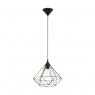 EGLO 94188 | Tarbes Eglo visilice svjetiljka 1x E27 crno