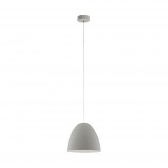 EGLO 94353 | Sarabia Eglo visilice svjetiljka 1x E27 sivo