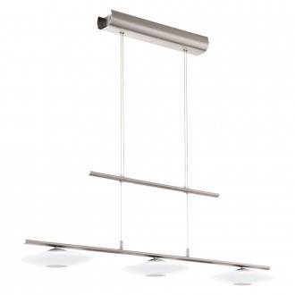 EGLO 94425 | Milea-1-LED Eglo visilice svjetiljka balansna - ravnotežna, sa visinskim podešavanjem 3x LED 1380lm 3000K krom, bijelo