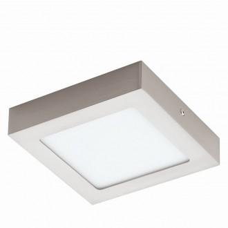 EGLO 94524 | Fueva_1 Eglo stropne svjetiljke LED panel četvrtast 1x LED 1200lm 3000K poniklano mat, bijelo
