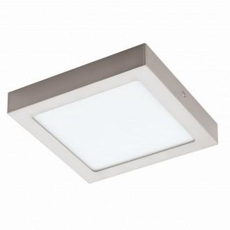 EGLO 94526 | Fueva_1 Eglo stropne svjetiljke LED panel četvrtast 1x LED 1700lm 3000K poniklano mat, bijelo