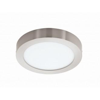 EGLO 94527 | Fueva_1 Eglo stropne svjetiljke LED panel okrugli 1x LED 2200lm 3000K poniklano mat, bijelo