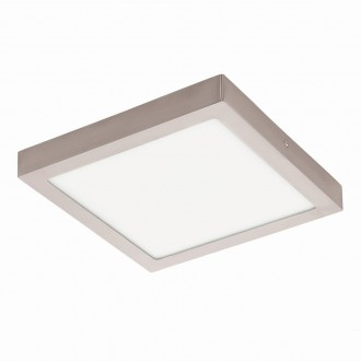 EGLO 94528 | Fueva_1 Eglo stropne svjetiljke LED panel četvrtast 1x LED 2600lm 3000K poniklano mat, bijelo