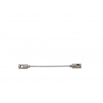EGLO 94609 | Vilanova Eglo element sustava - poveznica tračnice rezervni dijelovi fleksibilna poniklano mat